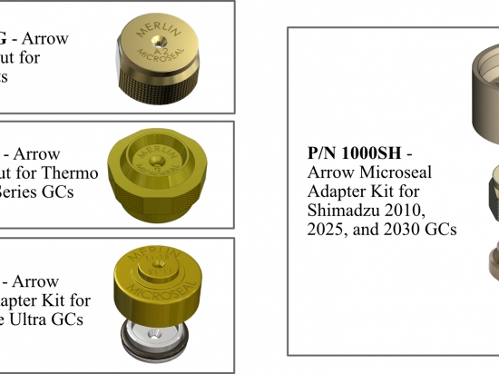 Microseal Kits and Replacement Microseals for Arrow SPME