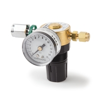 Mini-Regulator for natural gas and refinery gas standards